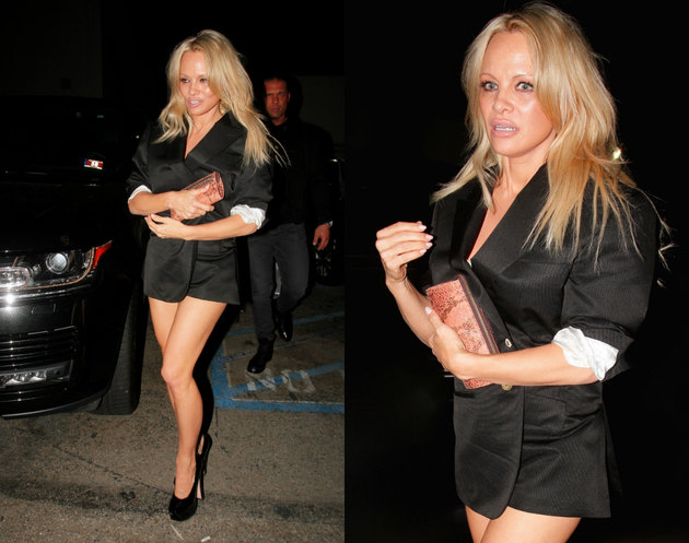 Pamela Anderson without pants