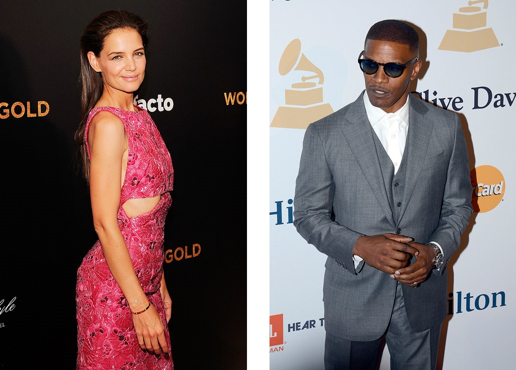 Katie Holmes is expecting a child from Jamie Foxx