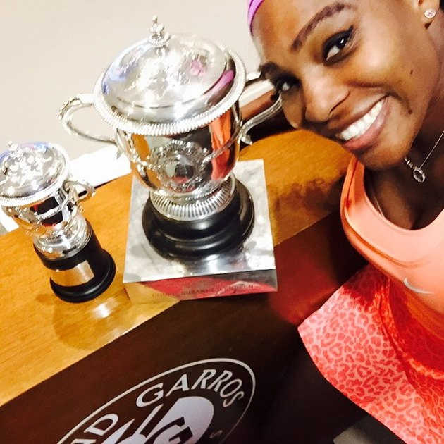 Serena Williams happiness