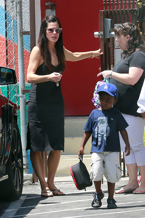 Sandra Bullock Adopted A Girl Becoming Stepmother For The Second Time