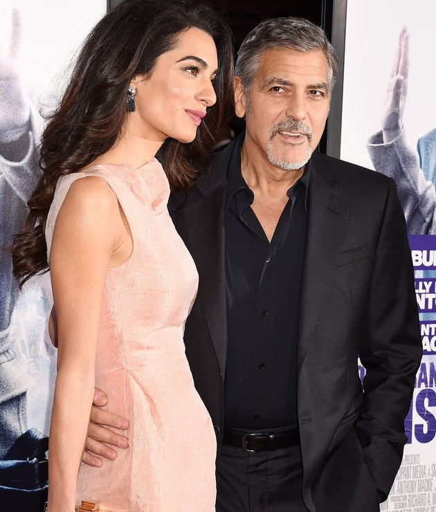 George Clooney and Amal Alamuddin pregnant