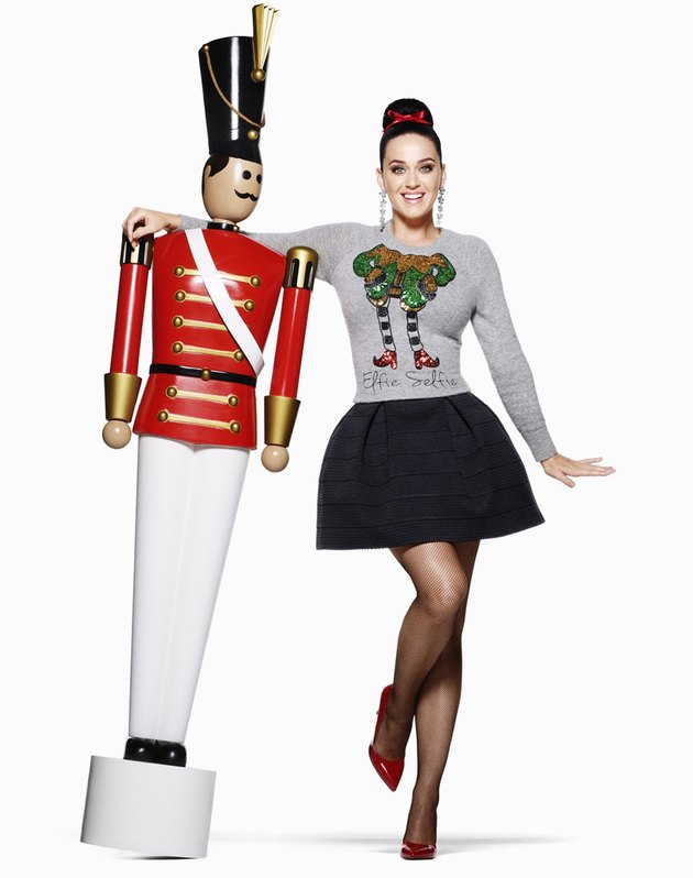 Katy Perry Elfie Selfie sweater