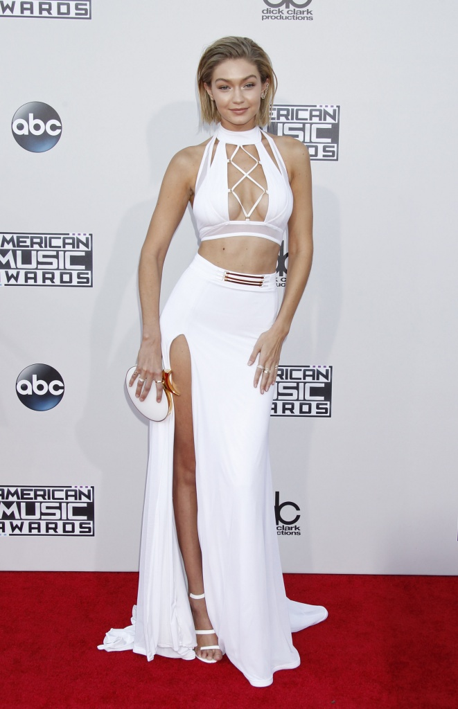 Gigi Hadid Dress American Music Awards 2015