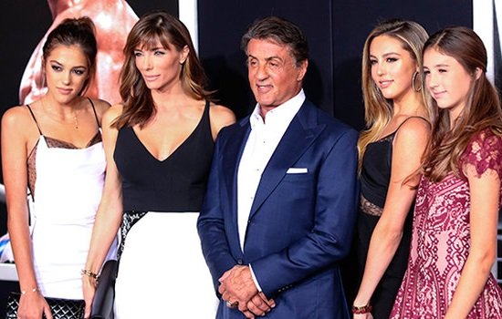 Sylvester Stallone amazingly beautiful daughters ...