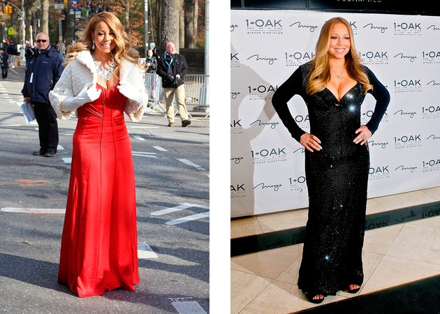 Mariah Carey lost 45 pounds for the wedding