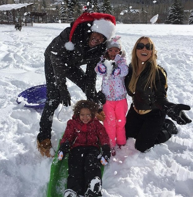 Mariah Carey Christmas with Nick Cannon