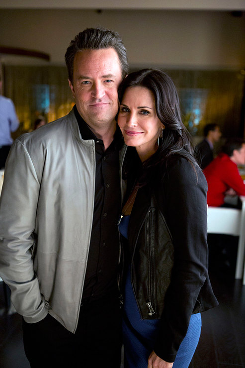 Matthew Perry and Courteney Cox romance