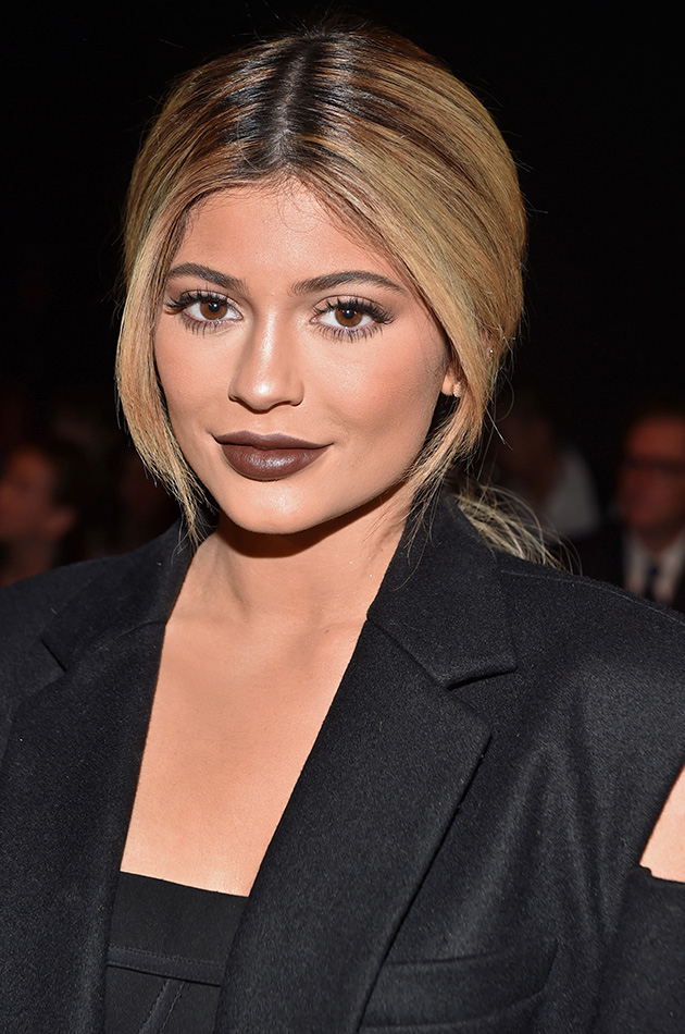 Kylie Jenner coffee lipstick color