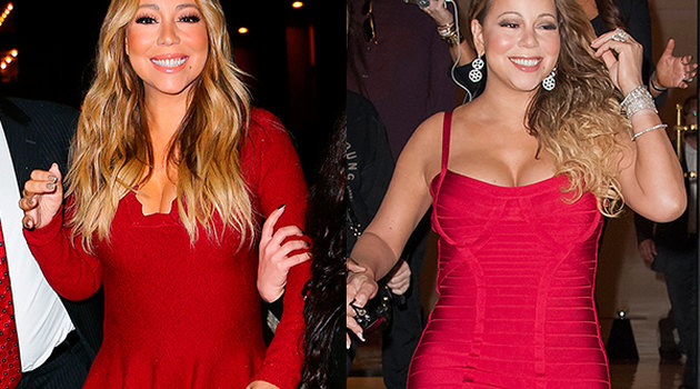 Mariah Carey lost 45 pounds