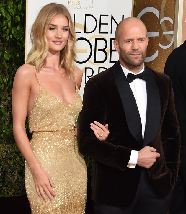 Jason Statham proposed to Rosie Huntington-Whiteley