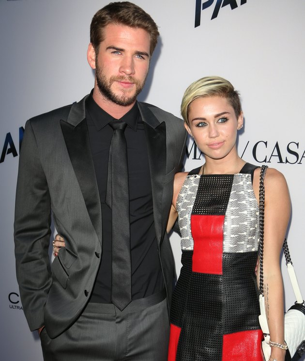 Liam Hemsworth and Miley Cyrus are engaged