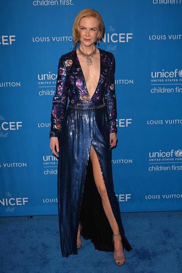 Nicole Kidman 2016 at the UNICEF ball