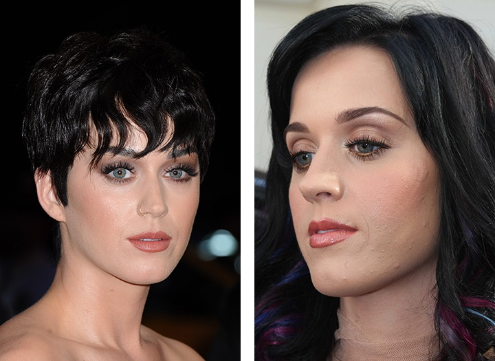 Katy Perry problems face skin