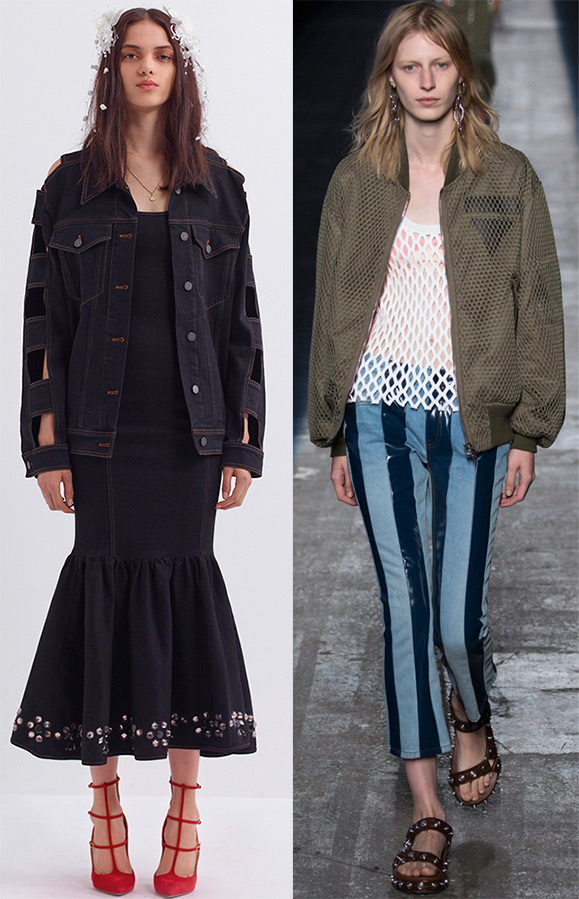 What are the jackets trends in Summer 2016