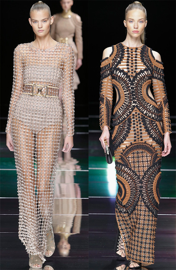 Fashion trends spring summer 2016 Mesh