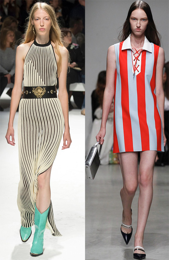 Fashion vertical stripes 2016