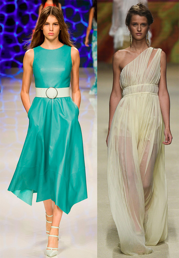 Evening dresses 2016 on the waist
