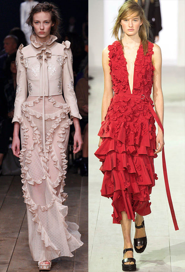 Spring summer 2016 trends frills