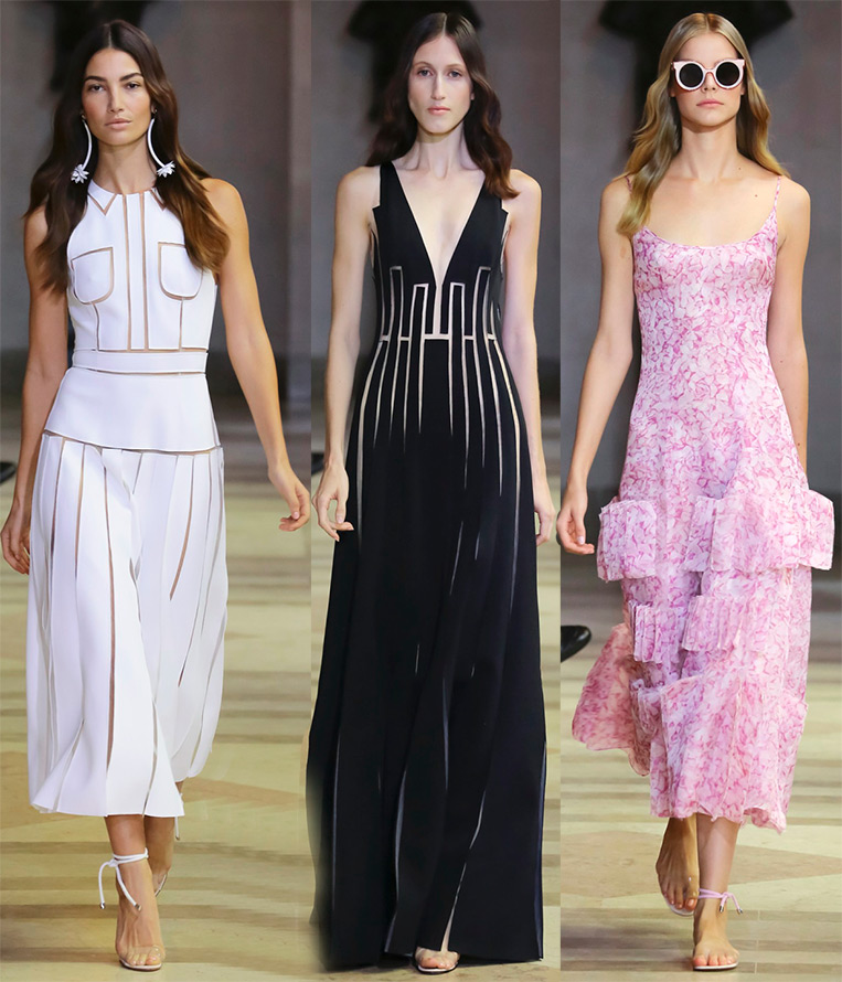 What are the dresses trends in Spring 2016