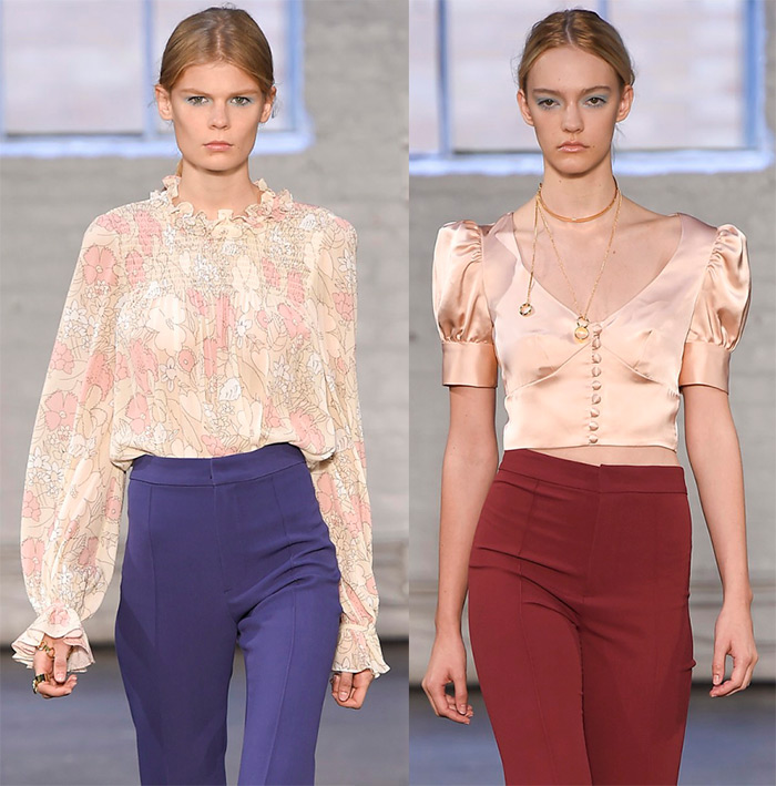 Blouses spring summer 2016 colors