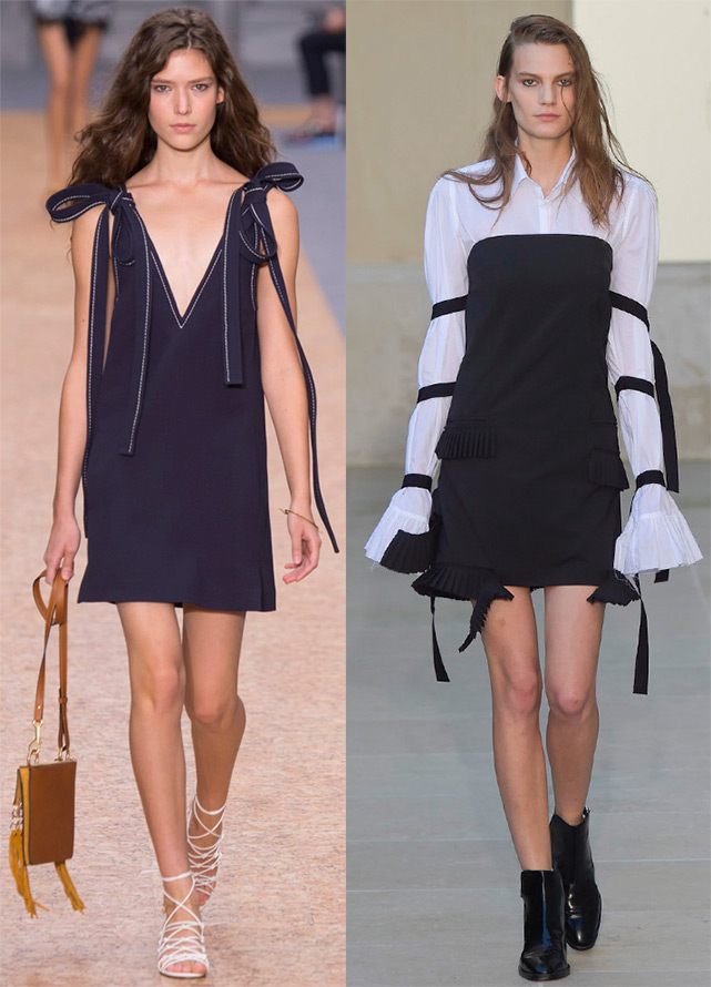 Spring summer 2016 fashion trends ribbons