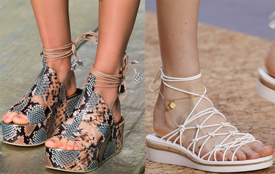 What sandals to wear in 2016