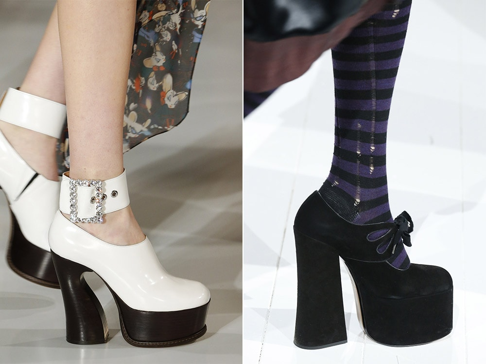 What are Fall 2016 shoe trends