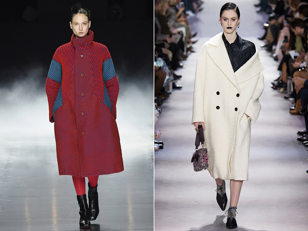 Women's oversize coats Fall Winter 2016 2017