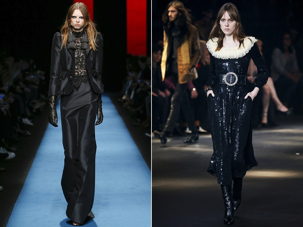Fall Winter 2016 2017 Fashion trends: gothic style