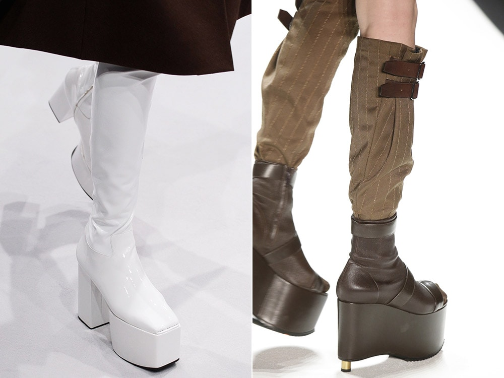 Wedged Boots fall winter 2016 2017