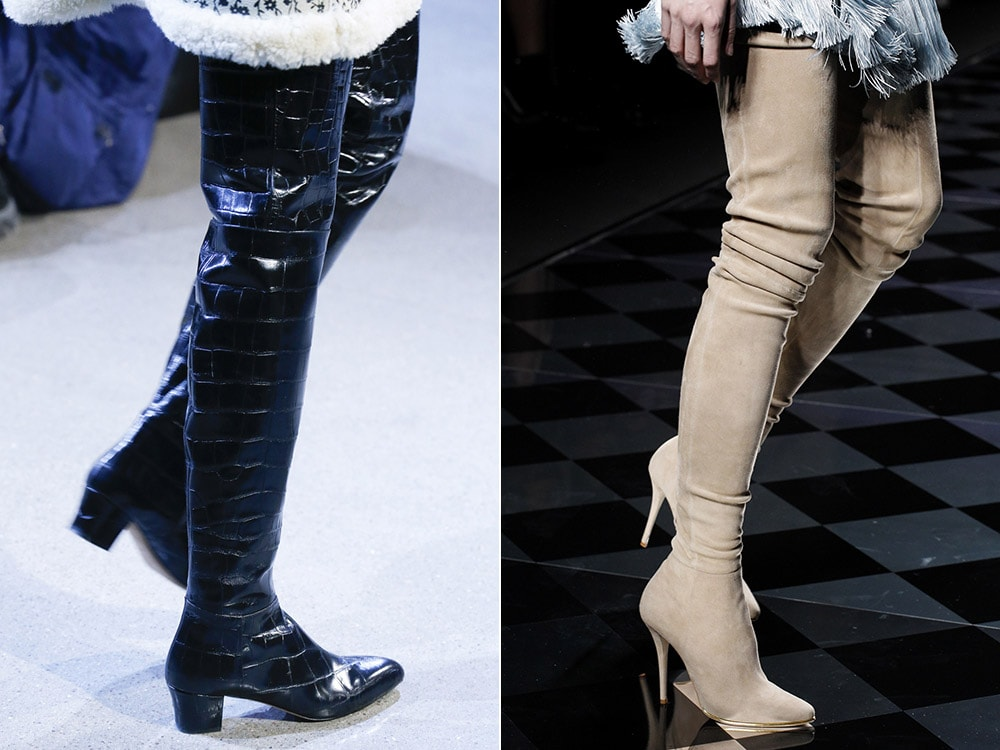 Over the knee boots fall 2016 winter 2017