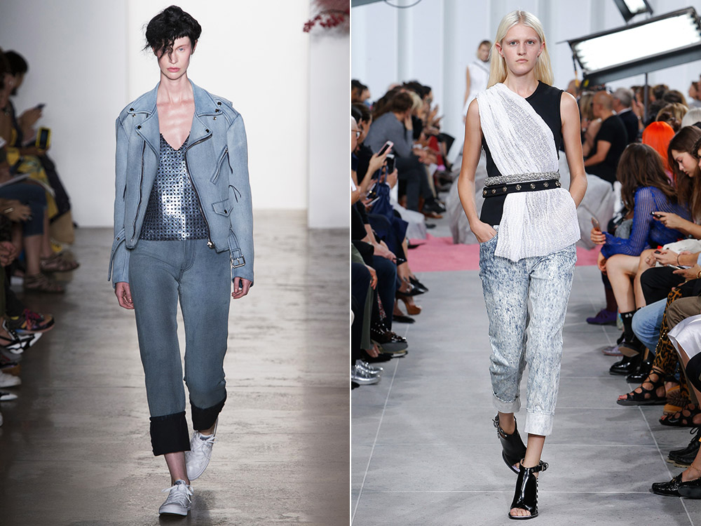 Cuffed jeans spring summer 2017