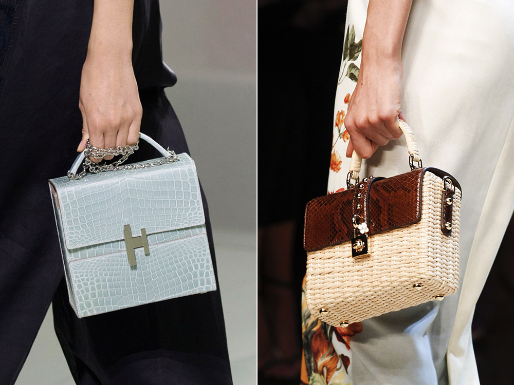 Stylish square bags