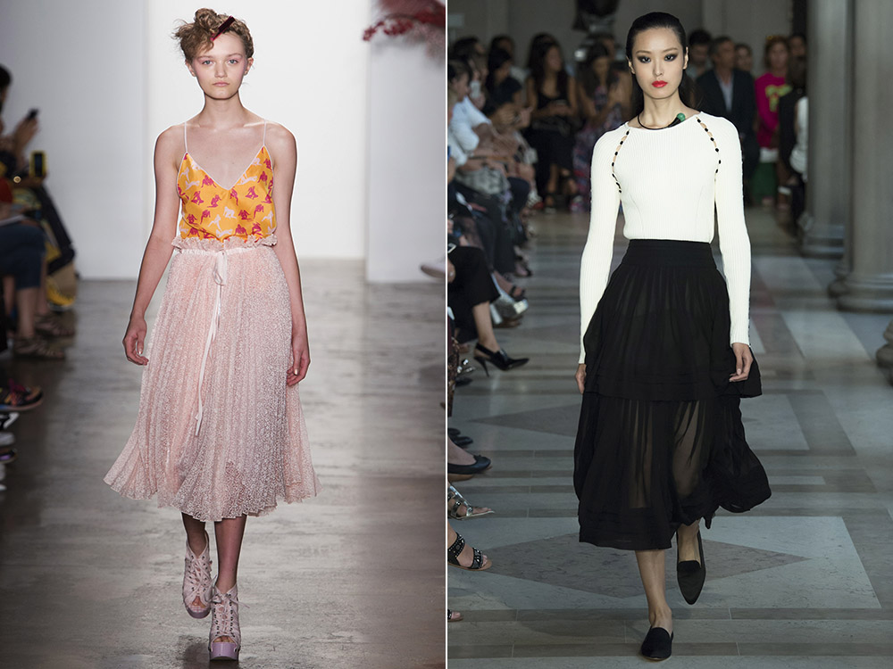 What skirt length to wear in 2017