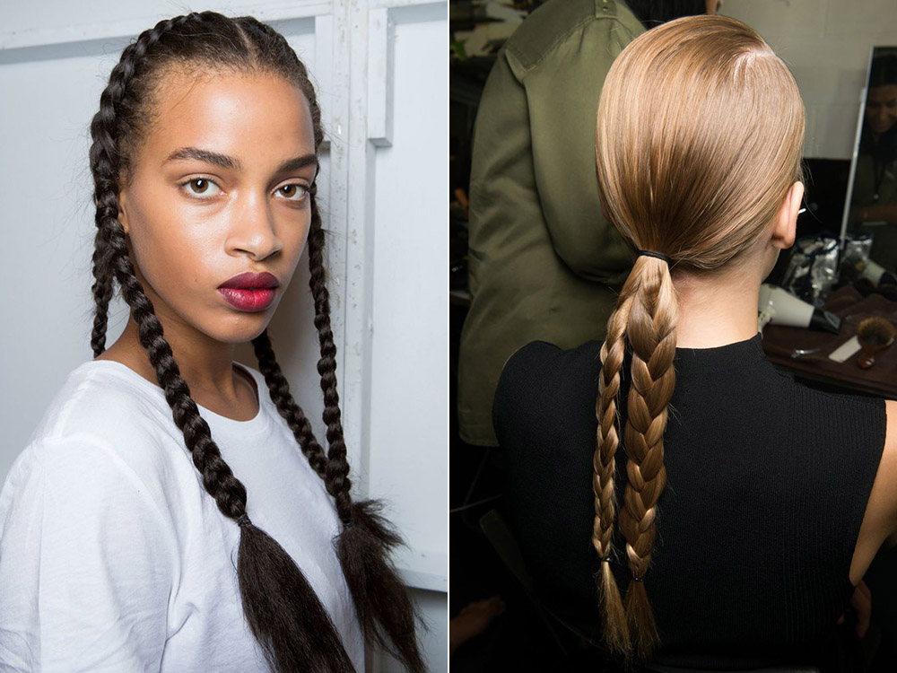 Braided hairstyles spring summer 2017
