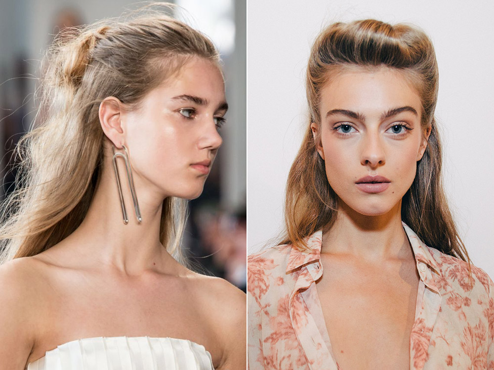 hairstyles for long hair spring summer 2017