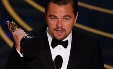 Leonardo DiCaprio received the first in his career Oscar