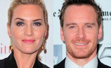 "Michael Fassbender and Kate Winslet in the first trailer ""Steve Jobs"""