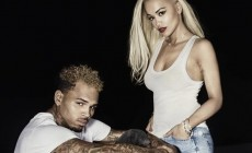 Rita Ora and Chris Brown became a couple in a new sexy video