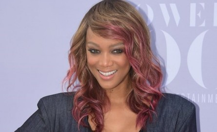 The supermodel Tyra Banks became mother for the first time