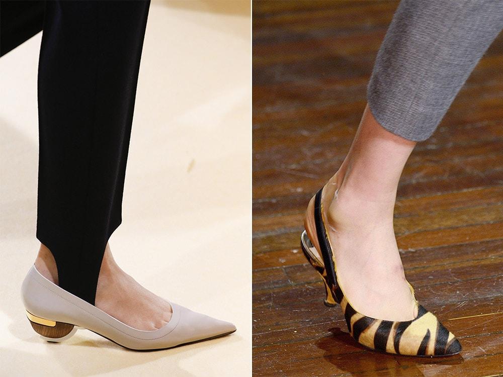 Elegant Women's shoes 2017 low heels