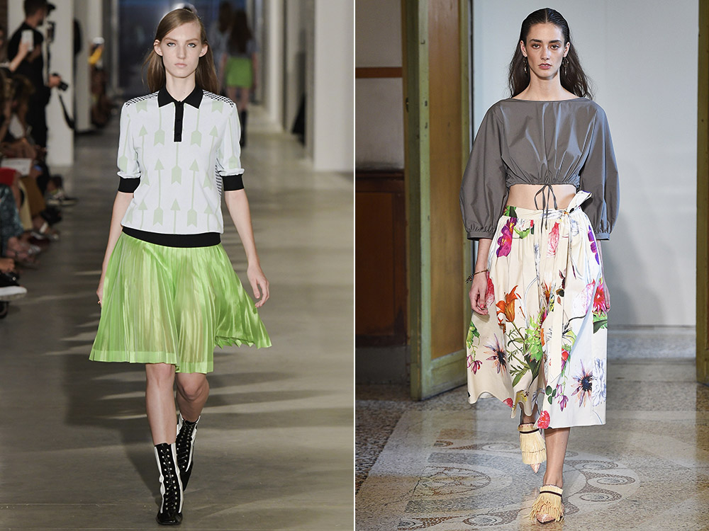 Spring-Summer 2016: the Must of the Season Is the Flared Skirt